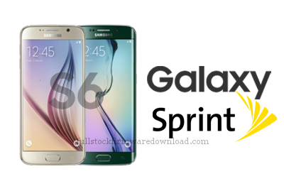 Full stock firmware, full Repair firmware, full 4 files firmware for Samsung Galaxy S6 Sprint SM-G920P (Android 7.0 Nougat)