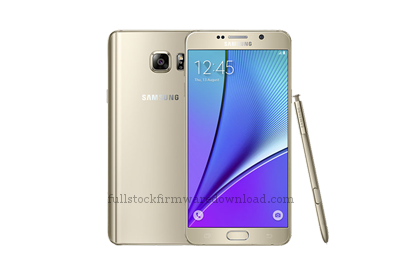 Full stock firmware, full 4 files firmware for Samsung Galaxy Note 5 model SM-N920T (Nougat, Android 7.0)