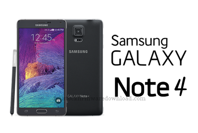 Full stock firmware, full 4 files firmware for Samsung Galaxy Note 4 SM-N910H