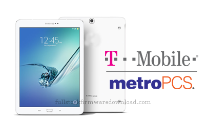 Full stock firmware, full Repair firmware, full 4 files firmware for Samsung SM-T817T Galaxy Tab S2 9.7 LTE-A (Android 7.0 Nougat)