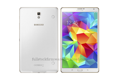 Full stock firmware, full 4 files firmware, factory firmware for Samsung SM-T705 Galaxy Tab S 8.4-inch LTE-A (Samsung Klimt)