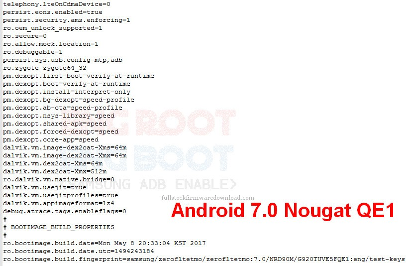 Eng Boot, Eng Sboot, Eng Root for Samsung SM-G920T Galaxy S6 LTE-A