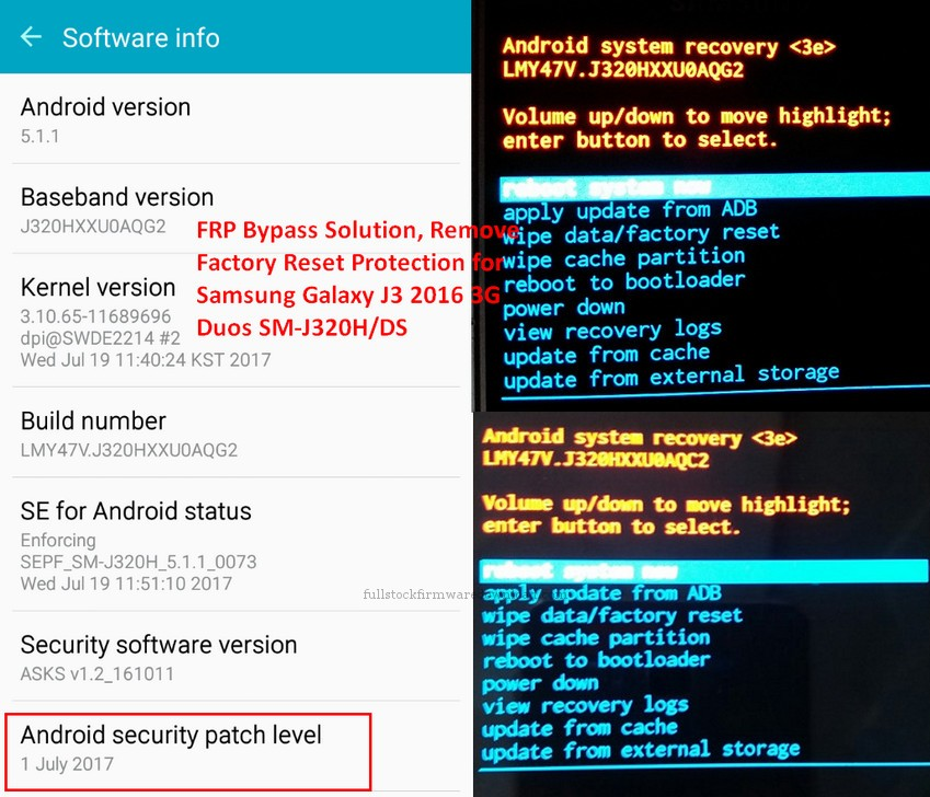 FRP Bypass Solution, Remove Factory Reset Protection for Samsung