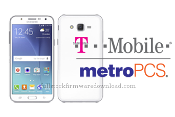Full stock firmware, full 4 files firmware for Samsung Galaxy J7 (T-Mobile) Model SM-J700T (Android 7.1.1 Nougat)