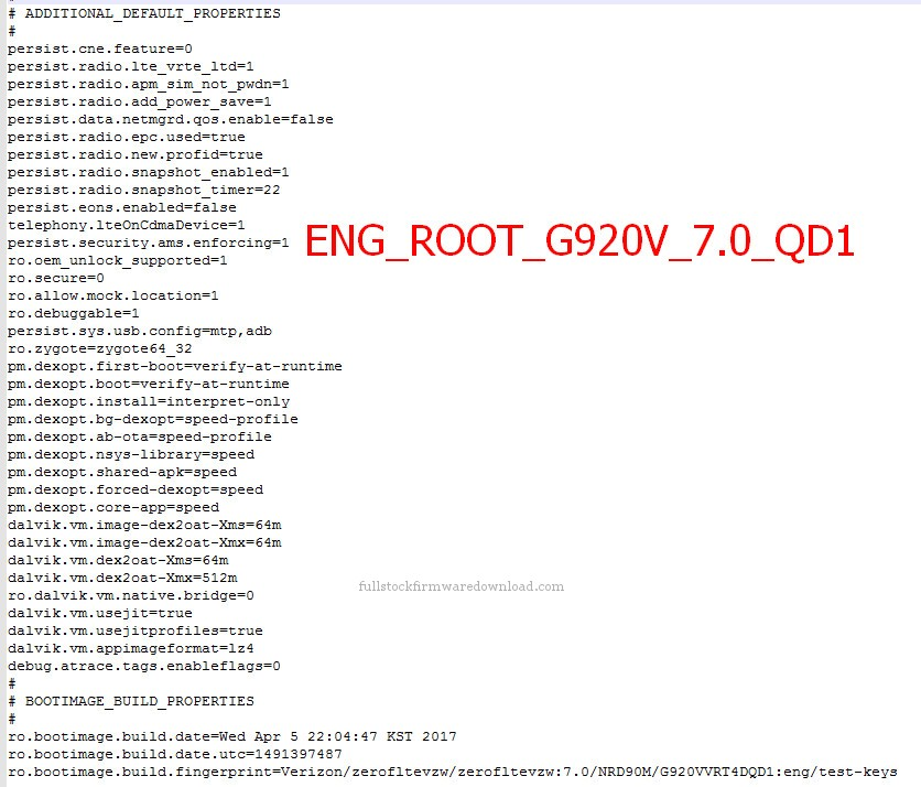 Eng Root, Eng Sboot for Samsung SM-G920V Galaxy S6 XLTE
