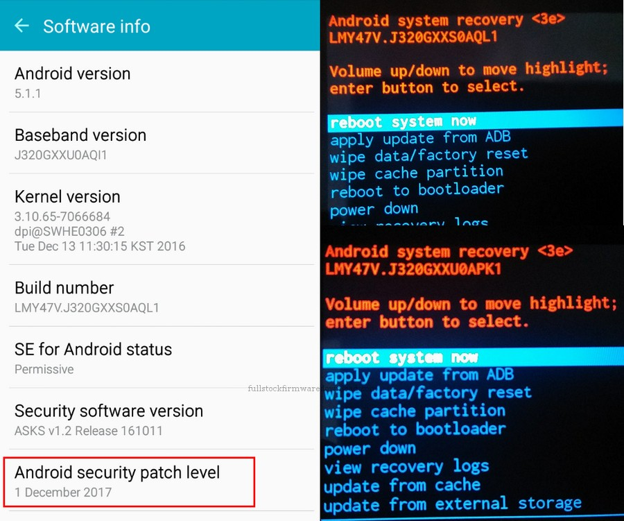 FRP Bypass, Remove Factory Reset Protection for Samsung SM-J320G/DS