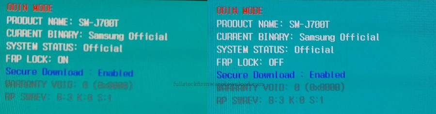 Full stock firmware, full 4 files firmware, Combination firmware