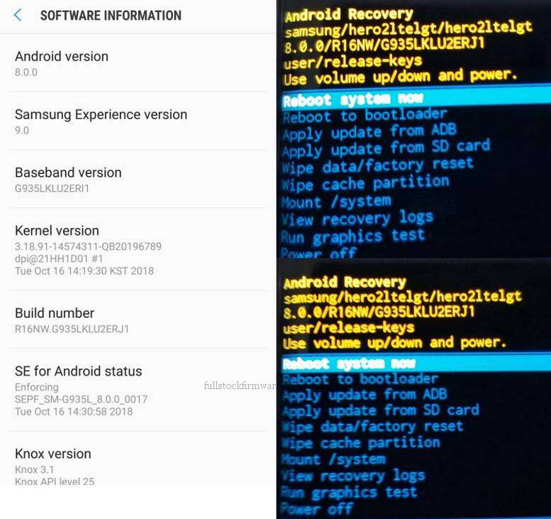 FRP Bypass Solution, Remove Factory Reset Protection for Samsung Galaxy S7 Edge Korea LUC Model SM-G935L (Android 8.0.0 Oreo)