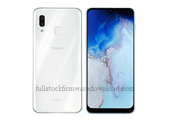 Full stock firmware, full repair firmware, Factory firmware for Samsung SCV43 Galaxy A30 2019 TD-LTE (Samsung A30) (Android 10, Q OS10)