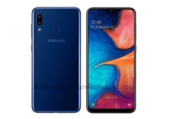 Full stock firmware, full Repair firmware, Factory firmware for Samsung SM-A2070 Galaxy A20s 2019 CN TD-LTE (Android 9.0, Pie)