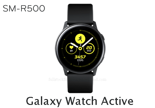 Samsung Galaxy Watch Active | SM-R500 Full stock firmware, full repair firmware, Factory firmware, Combination firmware for Samsung Galaxy Watch Active | SM-R500