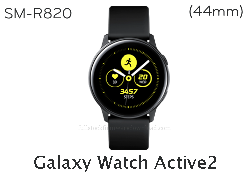 Galaxy Watch Active2 (44mm) | SM-R820 Full stock firmware, full Repair firmware, Factory firmware, Combination firmware for Samsung Galaxy Watch Active2 (44mm) | SM-R820