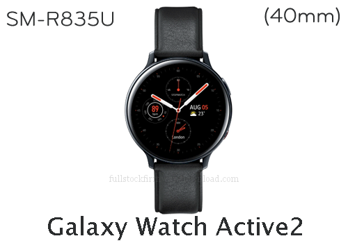 Galaxy Watch Active2 (40mm) | SM-R835U Full stock firmware, full Repair firmware, Factory firmware, Combination firmware for Samsung Galaxy Watch Active2 (40mm) | SM-R835U