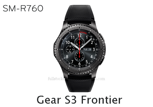 Samsung Gear S3 Frontier | SM-R760 Full stock firmware, full repair firmware, Factory firmware, Combination firmware for Samsung Gear S3 Frontier | SM-R760