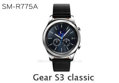 Samsung Gear S3 classic | SM-R775A Full stock firmware, full repair firmware, Factory firmware, Combination firmware for Samsung Gear S3 classic | SM-R775A