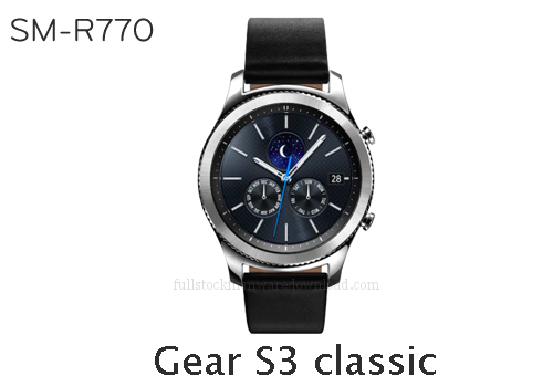 Samsung Gear S3 classic | SM-R770 Full stock firmware, full repair firmware, Factory firmware, Combination firmware for Samsung Gear S3 classic | SM-R770