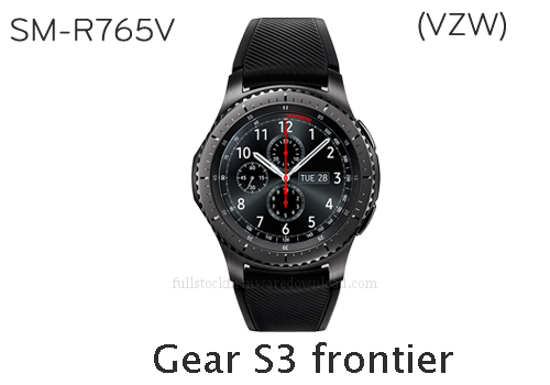 Samsung Gear S3 frontier | SM-R765V Full stock firmware, full repair firmware, Factory firmware, Combination firmware for Samsung Gear S3 frontier | SM-R765V
