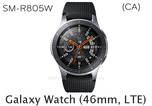 Samsung Galaxy Watch 46 mm (CA) | SM-R805W Full stock firmware, full repair firmware, Factory firmware, Combination firmware for Samsung Galaxy Watch 46 mm (LTE) | SM-R805W