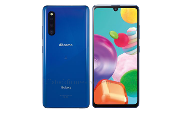 Full stock firmware, full factory firmware, full 4 files firmware for Samsung SM-A415J Galaxy A41 2020 WiMAX 2+ SCV48 (Samsung A415) (Android 10 Q OS10)
