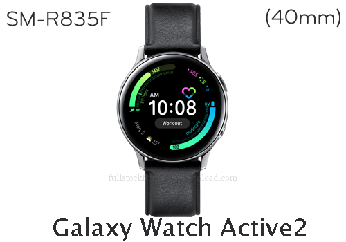 Galaxy Watch Active2 (40mm) | SM-R835F Full stock firmware, full repair firmware, Factory firmware, Combination firmware for Samsung Samsung Galaxy Watch Active2 (40mm) | SM-R835F