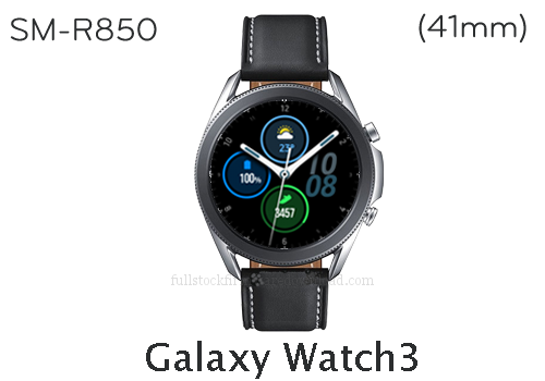 Samsung Galaxy Watch3 41mm | SM-R850 Full stock firmware, full repair firmware, Factory firmware, Combination firmware for Samsung Galaxy Watch3 | SM-R850