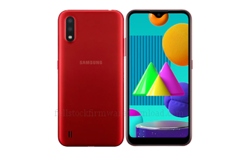 Full stock firmware, full factory firmware, full 4 files firmware for Samsung SM-M013F/DS Galaxy M01 Core LTE (Android 10 Q OS10)