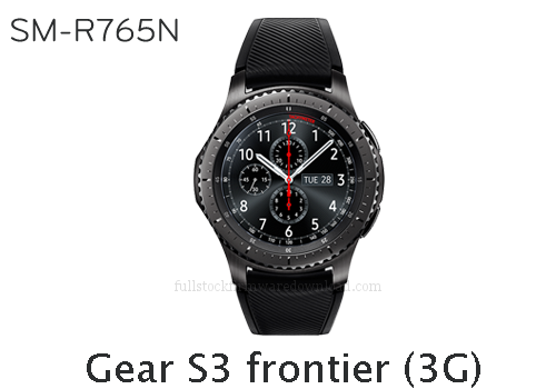 Samsung Gear S3 frontier (3G) | SM-R765N Full stock firmware, full repair firmware, Factory firmware, Combination firmware for Gear S3 frontier (3G) | SM-R765N